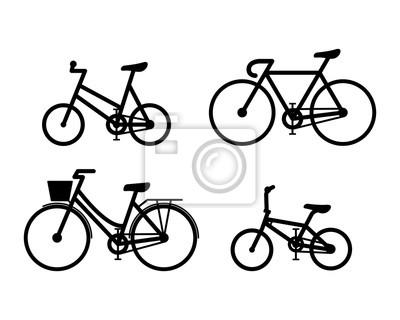 Rowerowa ikona wektoru ilustraci znaka symbole Ustawiają B
