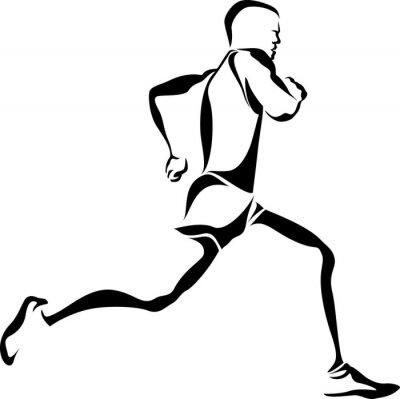 Plakat Runner Accent
