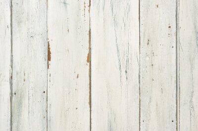 Plakat Rustikaler weißer Holzhintergrund