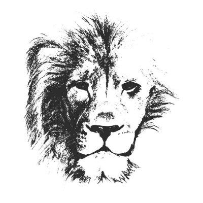 Plakat rysowane ręcznie. ilustracji wektorowych