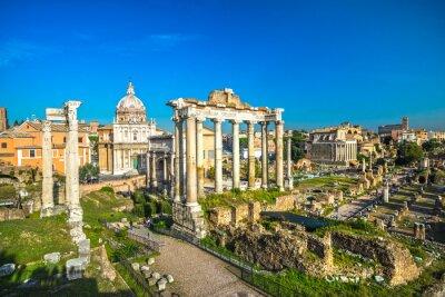 Plakat Rzym, Włochy.