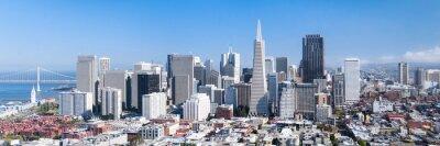 Plakat San Francisco Panorama