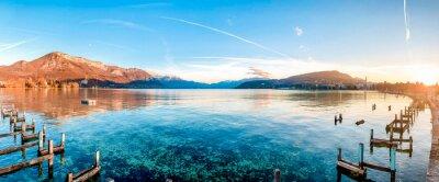 Plakat Scenic View Of Lake Against Sky