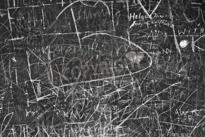 Plakat Ściana Graffiti jako Symbol Komunikacji Miejskiej