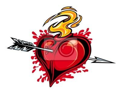 Serce ze strzałą