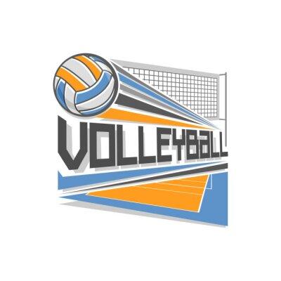 Plakat Siatkówka logo
