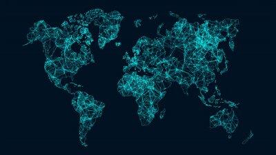 Plakat Sieć technologiczna.