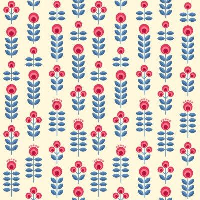 Plakat Skandynawskie kwiaty