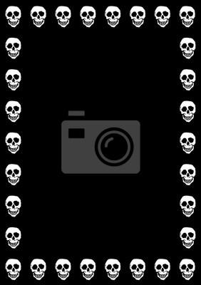 Skulls Czarne