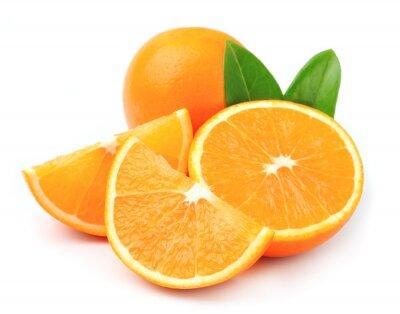 Plakat Słodkie pomarańczowe owoce