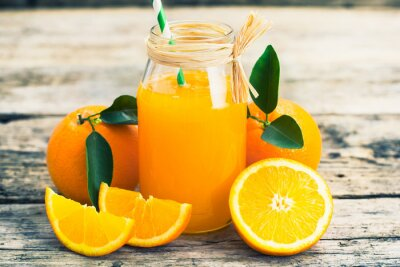 Plakat sok pomarańczowy