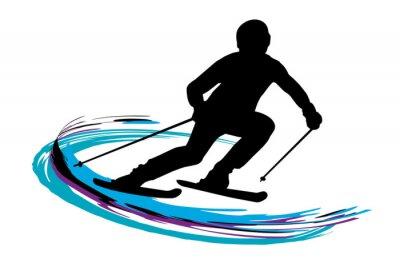 Plakat Sporty zimowe - 14