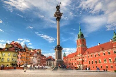 Plakat Stare Miasto w Warszawie, Polska