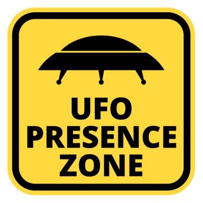 Plakat Statki UFO