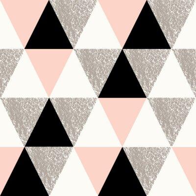 Plakat Streszczenie geometryczny wzór
