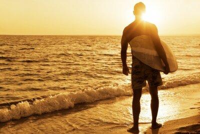 Plakat Surfing, Australia, deskę windsurfingową.