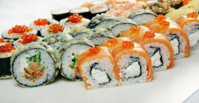 Plakat Sushi.
