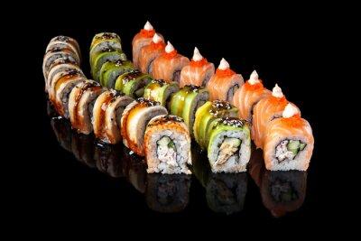 Plakat Sushi rolki
