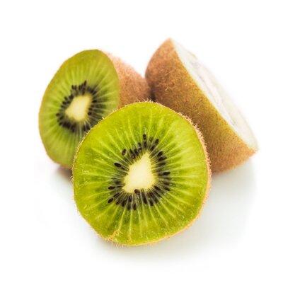 Plakat Świeże zielone kiwi