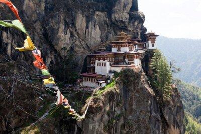 Plakat Taktshang Goemba, Gniazdo Tygrysa klasztoru w Bhutanie