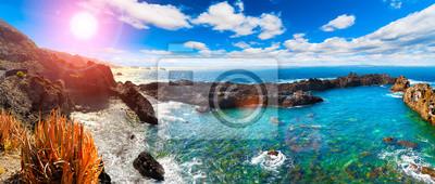 Tenerife wyspa dekoracje. Charakter malownicze pejzaże na Wyspach Kanaryjskich