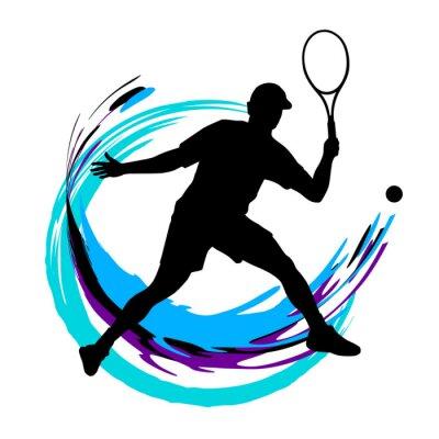Plakat Tenis - 197