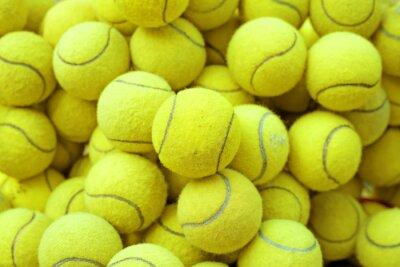 Plakat tennis ball