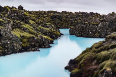 Plakat The blue lagoon in Iceland