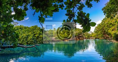 Plakat The Blue Lagoon, Port Vila, Efate, Vanuatu