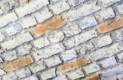 Tło tekstury ceglanego muru.
