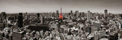 Plakat Tokyo skyline