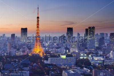 Plakat Tokyo Tower, Tokyo, Japan