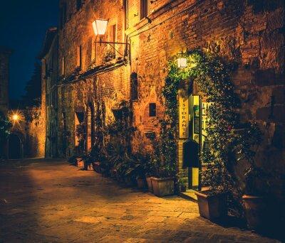 Plakat Tuscan restauracja w Pienza