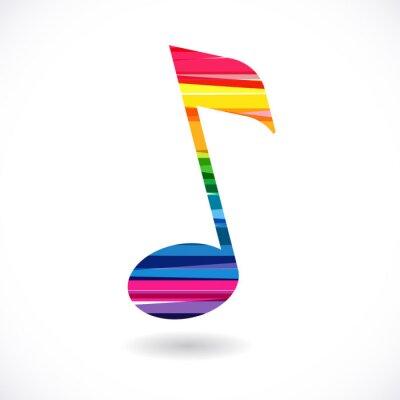 Plakat Uwaga de musique