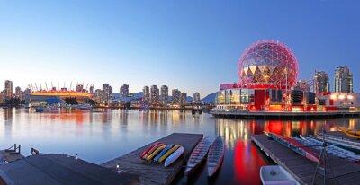 Plakat Vancouver w Kanadzie