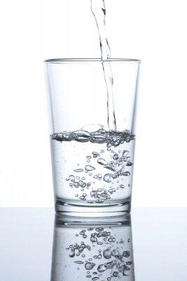 Plakat Vaso con agua