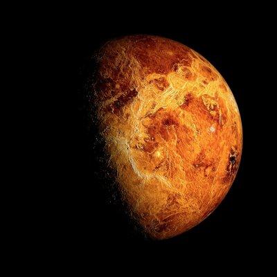 Plakat Venus Elementy tego zdjęcia dostarczone przez NASA