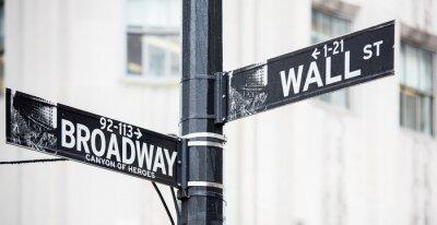 Plakat Wall street