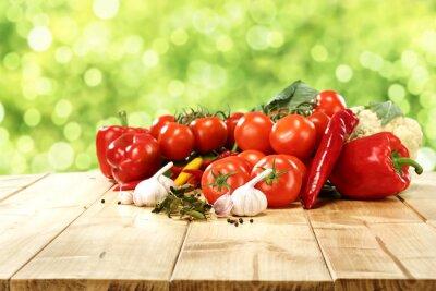 Plakat warzywa