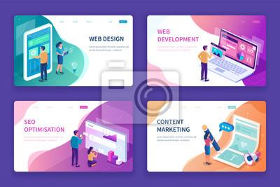 Plakat web design