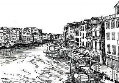 Plakat Wenecja,