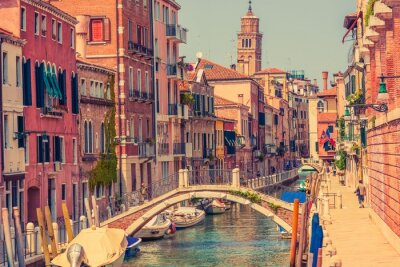 Plakat Wenecja Architektura