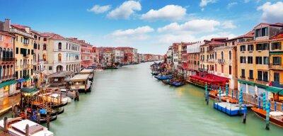 Plakat Wenecja - Most Rialto i Canal Grande