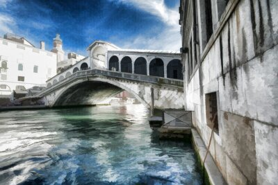 Plakat Wenecja obraz