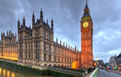 Plakat Westminster Big Ben