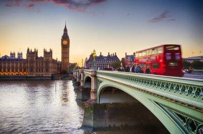Plakat Westminster Bridge
