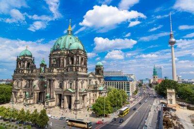 Plakat Widok katedry w Berlinie