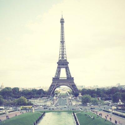 Plakat Wieża Eiffla w Paryżu