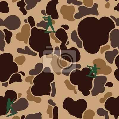 Wojskowy żołnierz kamuflażu Bez szwu deseń Kaczka Hunter wektora samodzielnie tapety tła