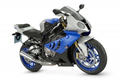 Plakat Wyścigi motocyklowe